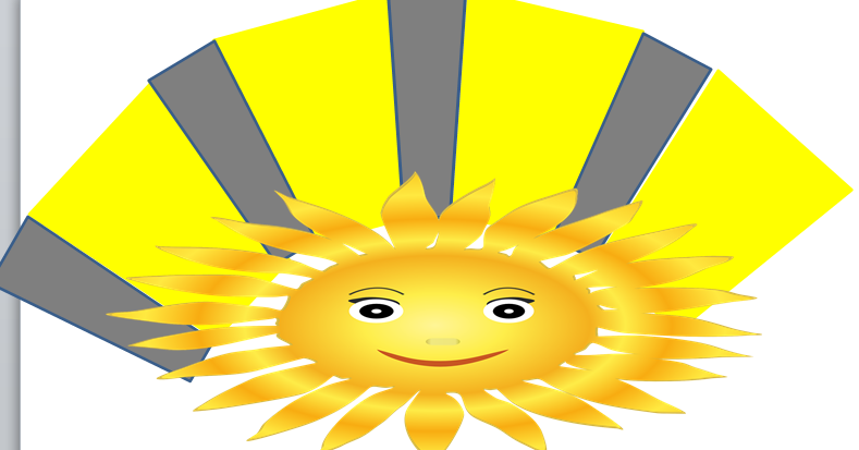 Repeated sun exposure at solar noon time