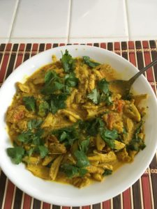 fish curry rich in Vitamin-D