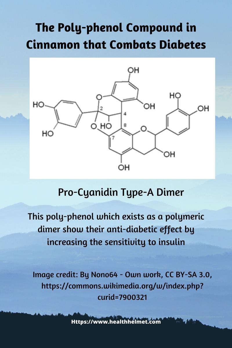Cinnamon-Procyanidin type-A -dimer