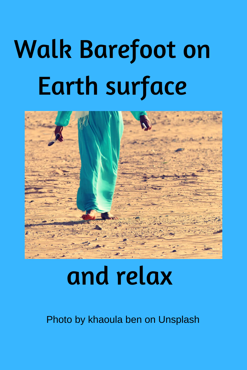 Walk-barefoot-on-earth-surface-and-relax