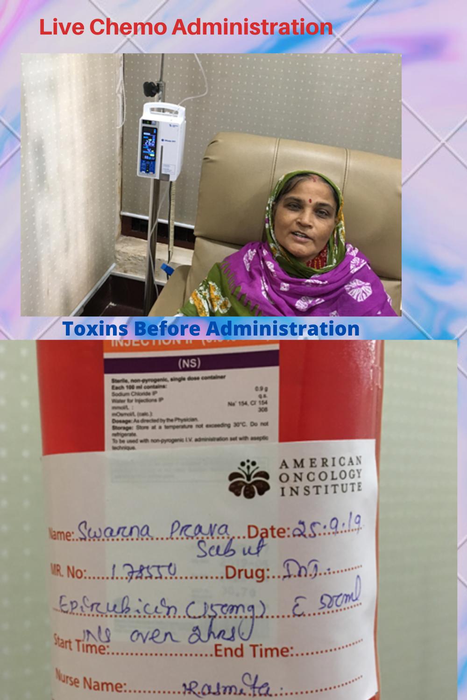 Chemo administration-live