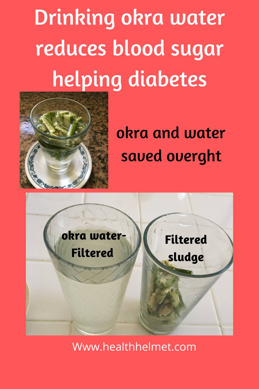 Okra-water-preparation
