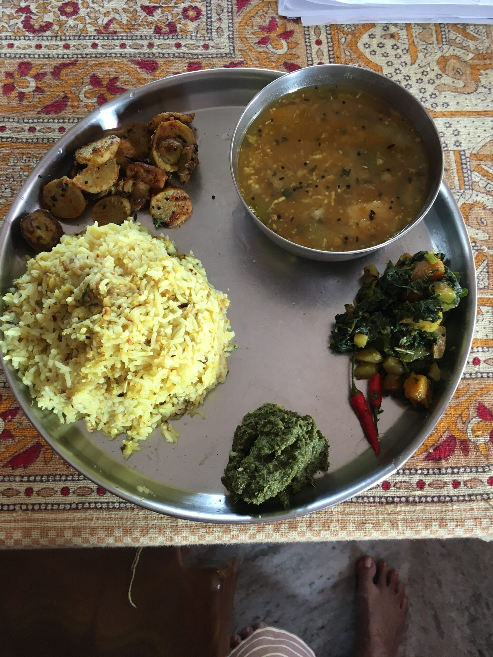 Curry leaves chutney- step-by-step instructions with pictures